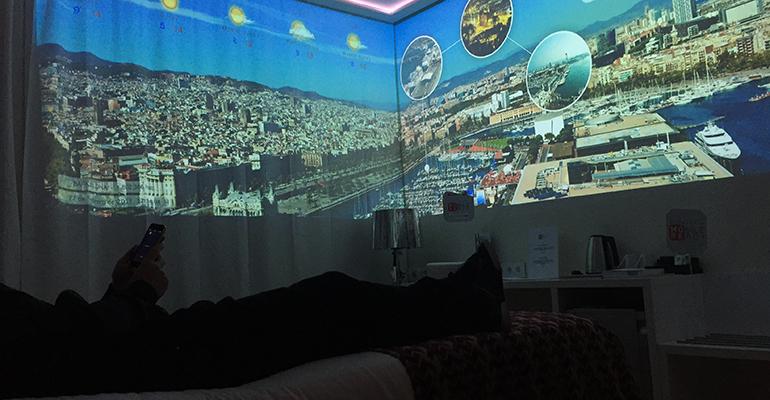 Habitación inteligente en hotel habitaciones experiencia Broomx