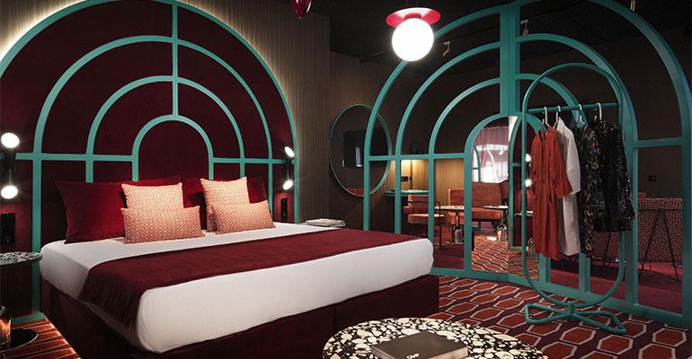 Habitación de Ilmio Design en InteriHotel 3
