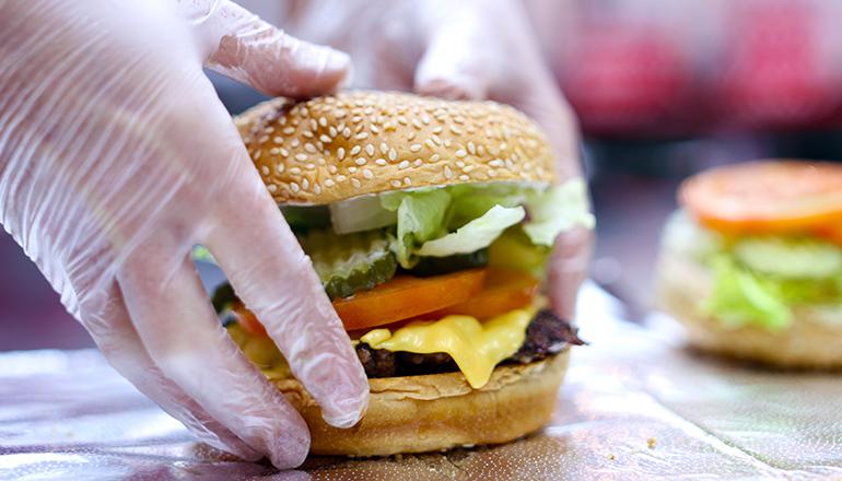hamburguesas five guys