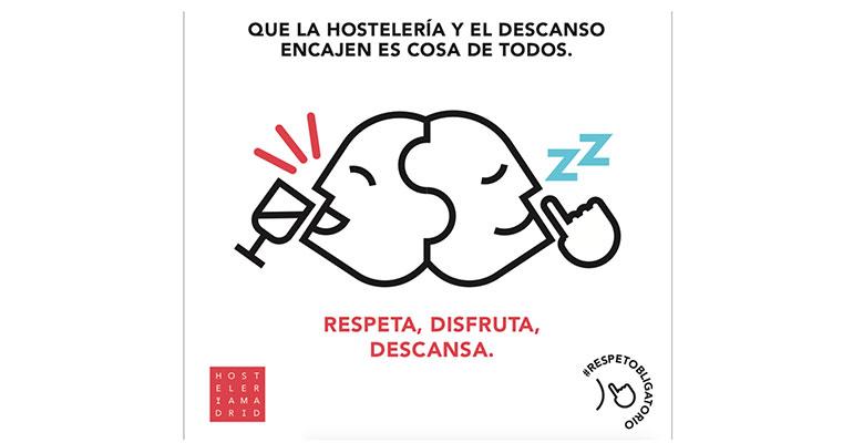 Hostelería Madrid cartel para terrazas