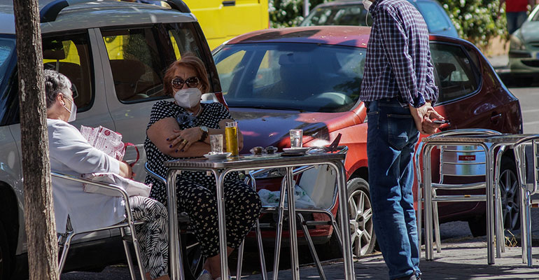 El 21% de los bares y restaurantes siguen cerrados