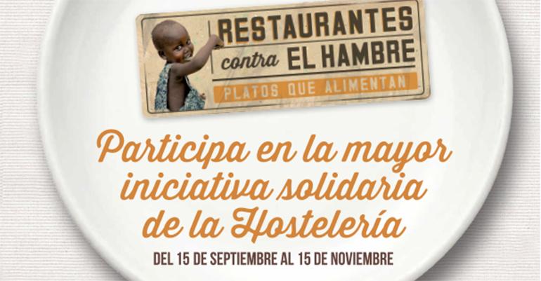 Inscripción campaña restaurantes contra el hambre