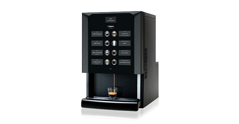 Máquina automática de café para espacios pequeños