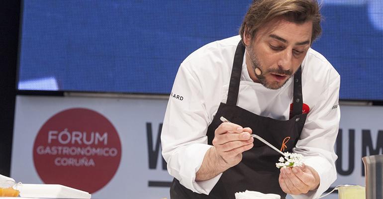Jordi Roca en forum gastronómico Coruña