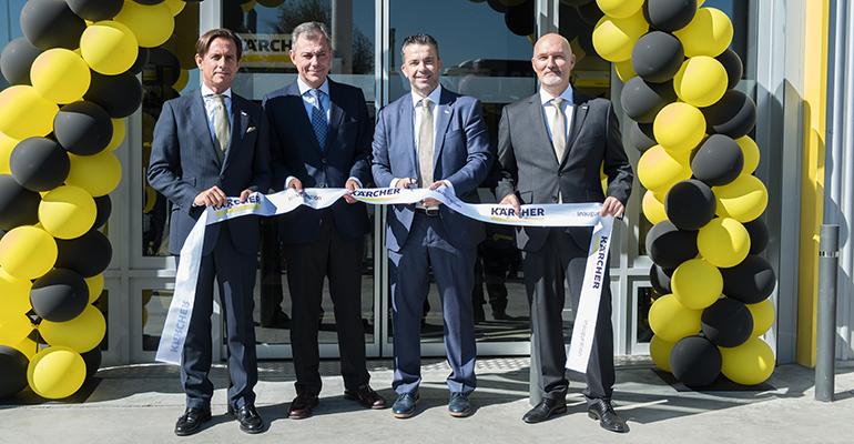 Inauguración del nuevo Kärcher Center en Sevilla