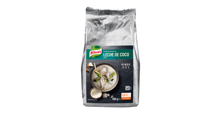 Leche de coco deshidratada