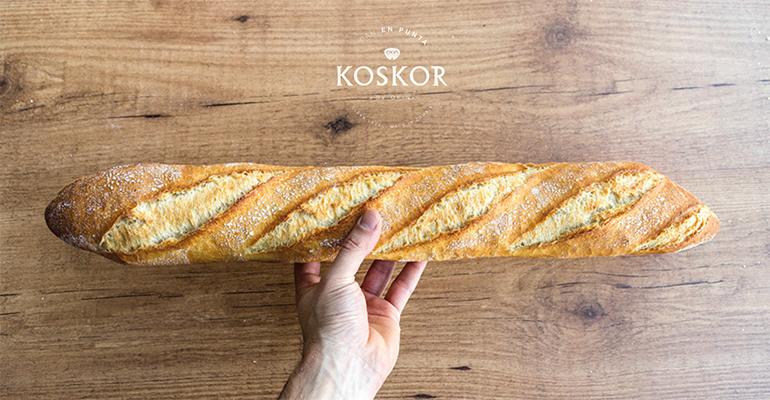 Gama de panes Kosdor de Okin