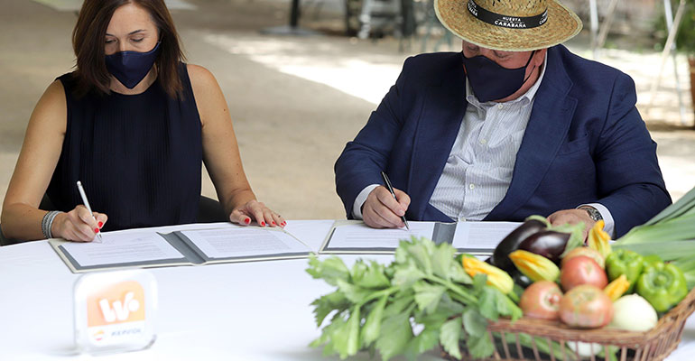 Repsol convertirá al restaurante Huerto de Carabaña en 100% sostenible