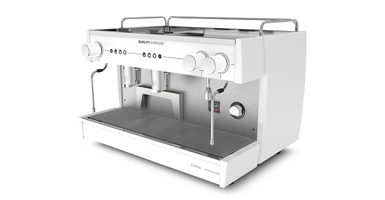 Linneo Quality Espresso modelo blanca