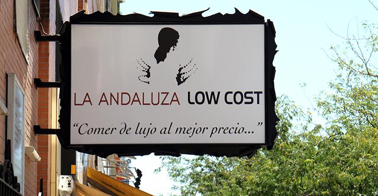 La Andaluza Low Cost busca restaurantes