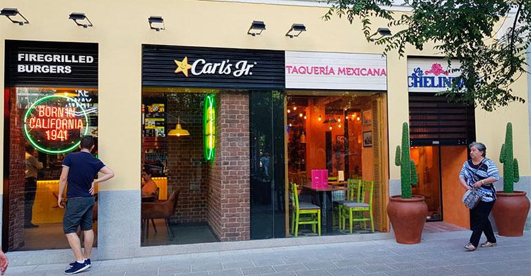 La Chelinda y Carl´s en Madrid,