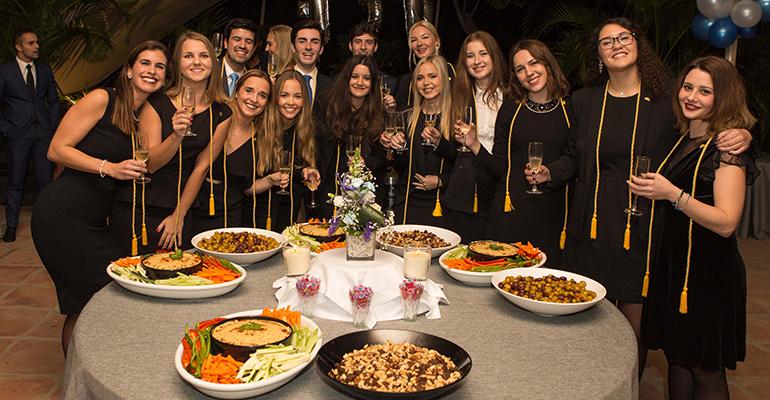 Estudiantes de Les Roches Marbella