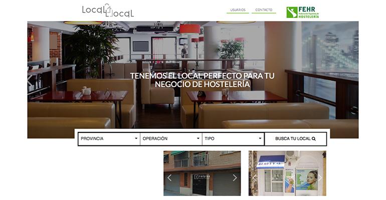 Web local a local