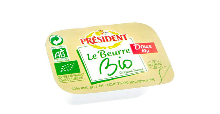 President mini mantequilla bio