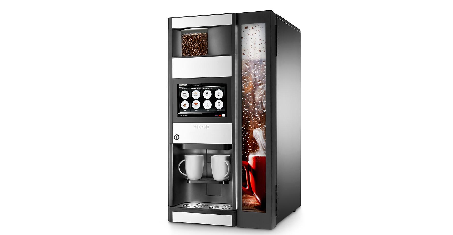 máquina vending café wittenborg n&w
