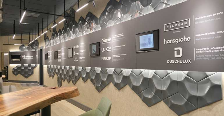 marcas showroom WEcontract Barcelona