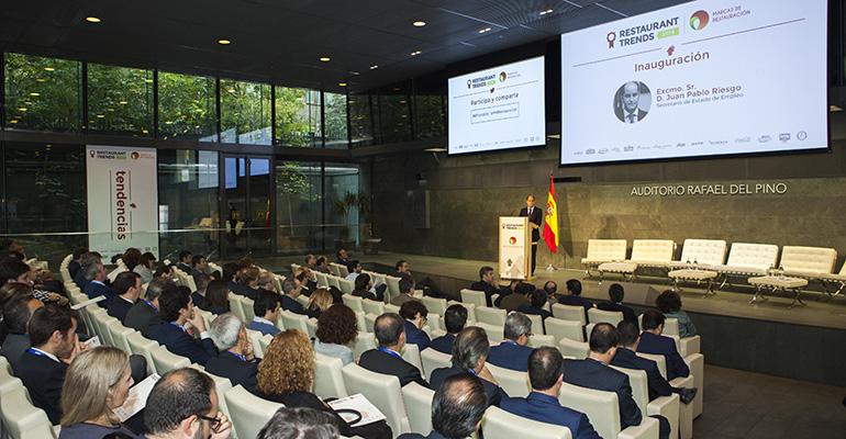Encuentro Restaurant Trends 2016 celebrado en Madrid