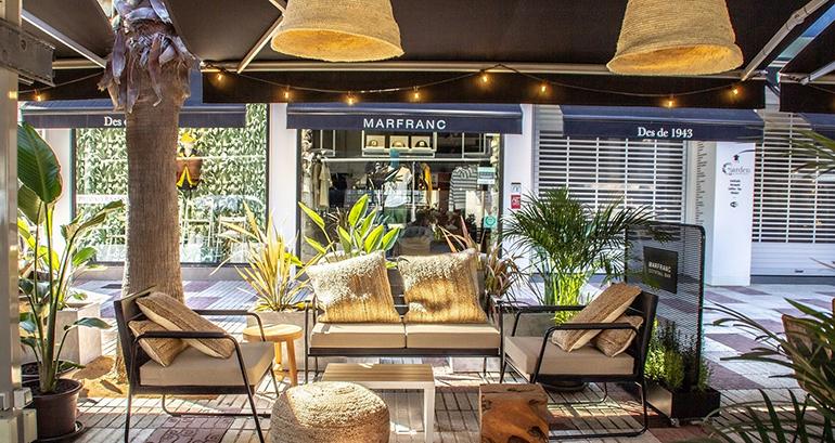118 Studio diseña la nueva terraza de la Concept Fashion Store Marfranc en el corazón de la Costa Brava