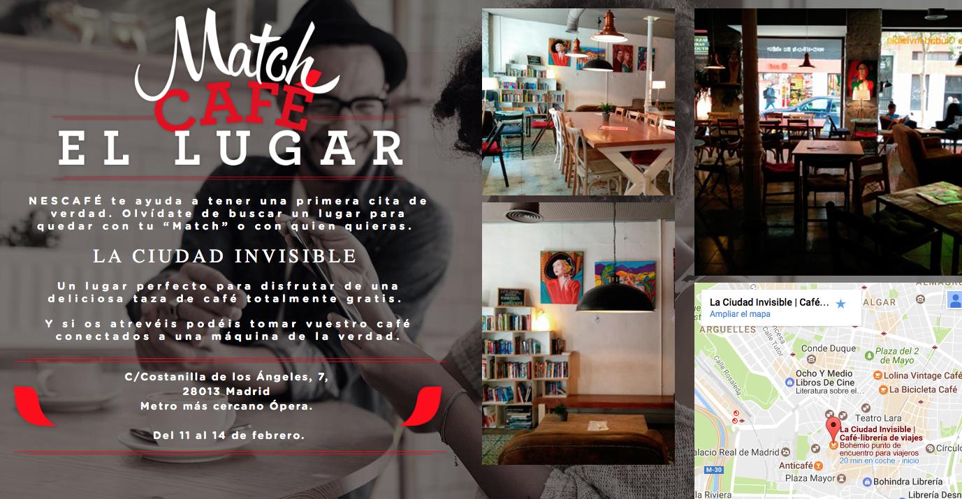 Matchcafé, el sitio de citas de Nescafé especial para San Valentín