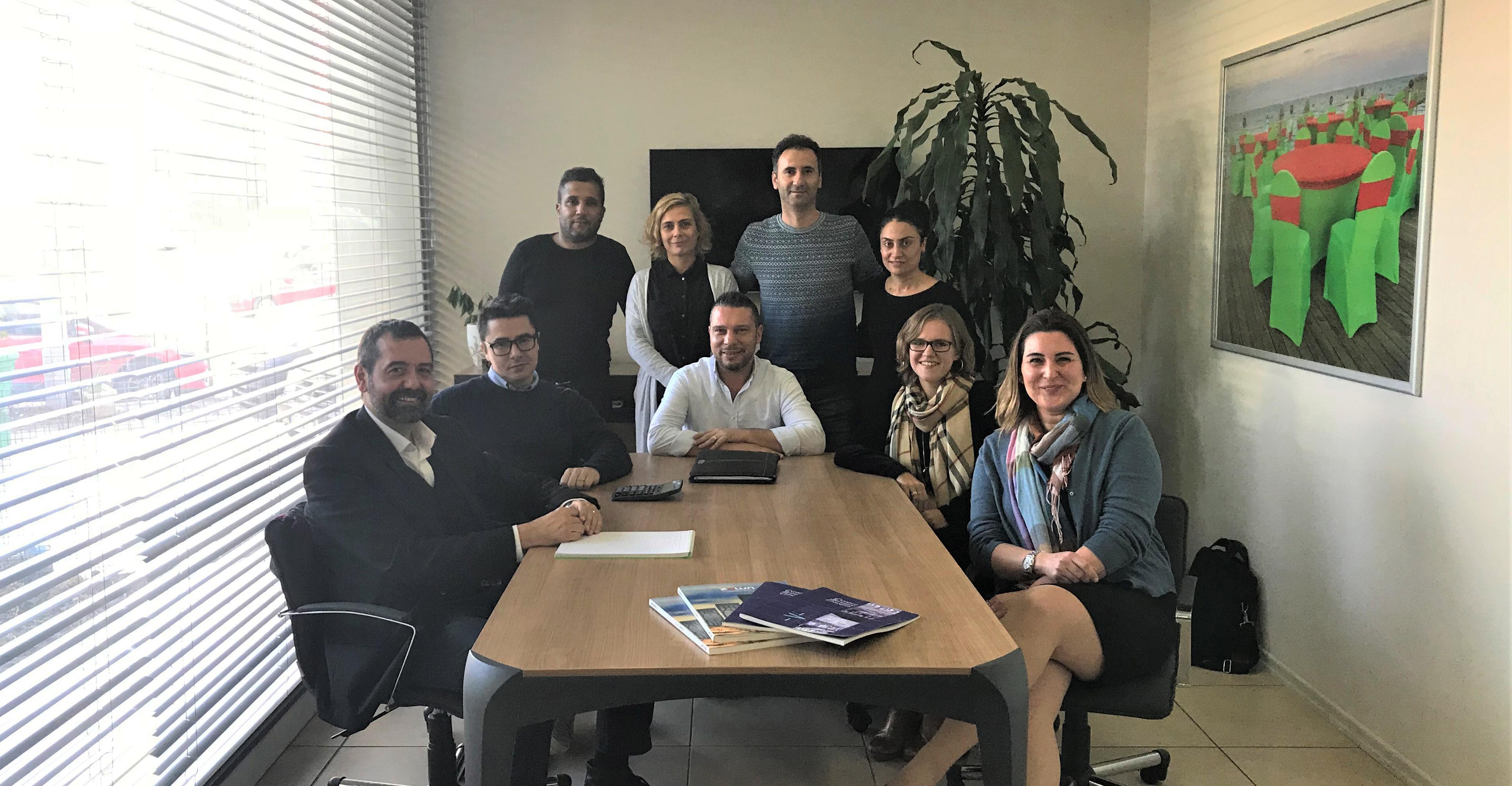 Nuevo equipo de Evento Tekstil Turkey