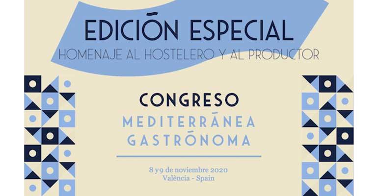 Mediterránea Gastrónoma reforzará su congreso con una feria virtual