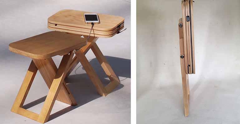 Mesa con cargador Yamelas