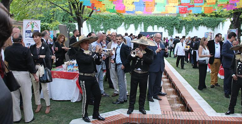 Momento de la jornada de productos mexicanos