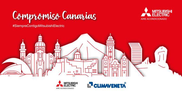 Mitsubishi Electric arranca su Plan de Expansión en Canarias apostando por la sostenibilidad