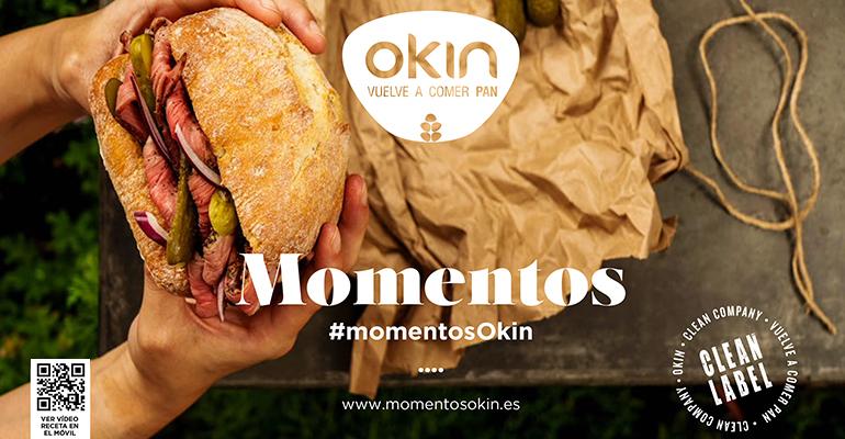 Momentos Okin, nuevo catálogo de panes y recetas para hostelería