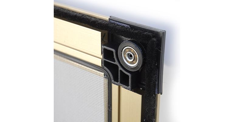 Mosquitera corredera de aluminio para ventanas y puertas