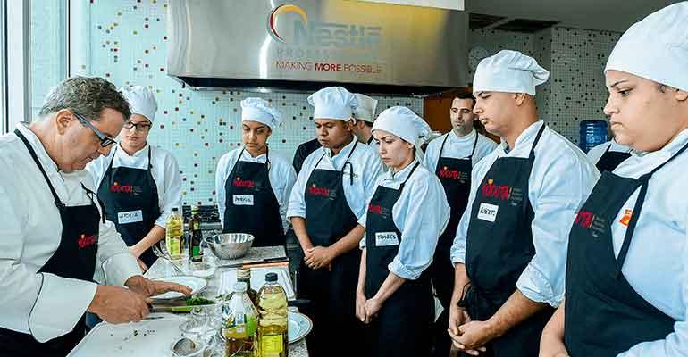 formación Nestlé foodservice