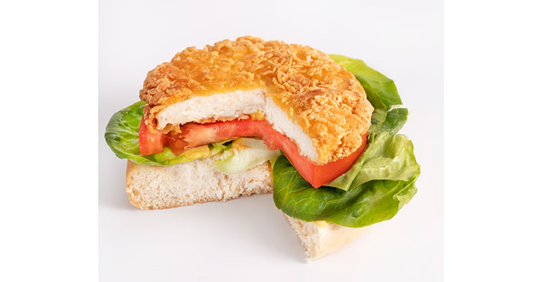 Newind foods hamburguesa plant-based