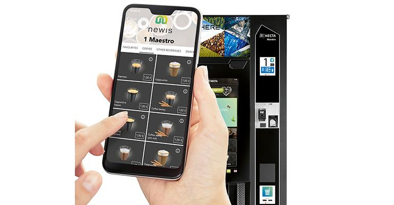 aplicación pago vending