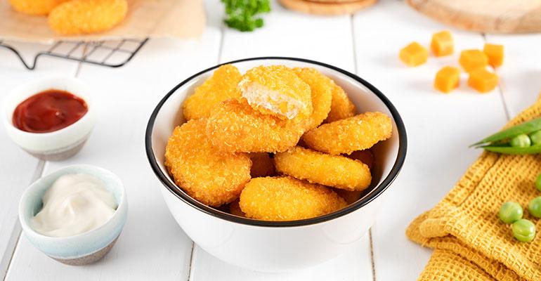 Nuggets, fingers y hamburguesas plant-based para hostelería