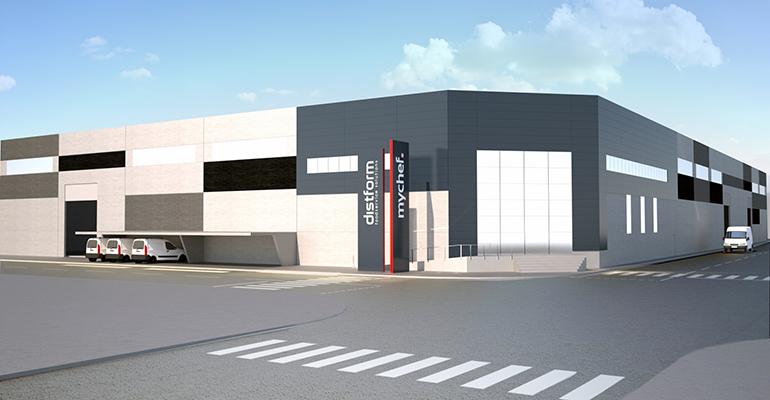 Distform, la compañía ha decidido ampliar sus instalaciones.