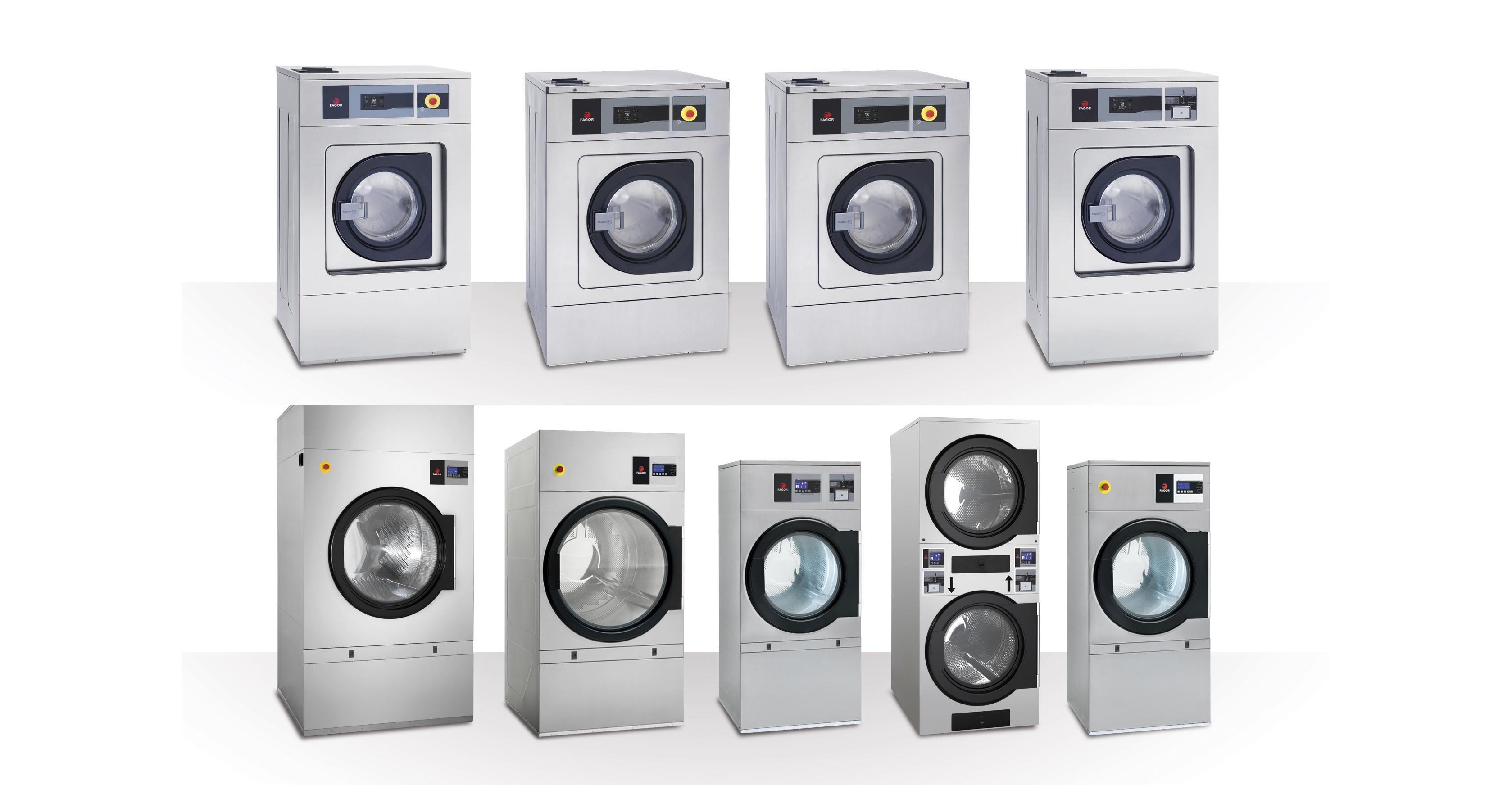 Nuevas lavadoras y secadoras de Fagor Industrial
