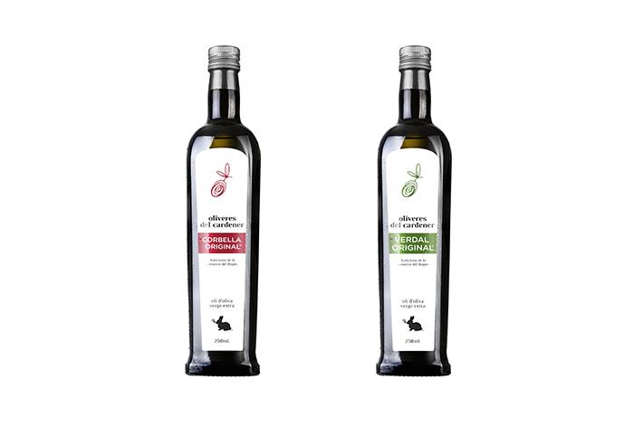 Aceite Oliveres variedad corbella