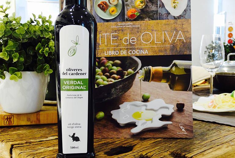 Aceite oliveres del cardener