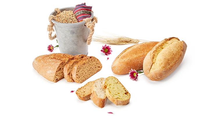 panes de chía y maíz