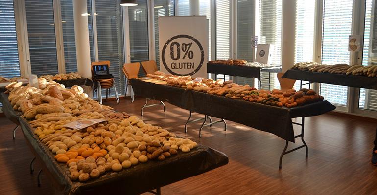 panes sin gluten para hostelería