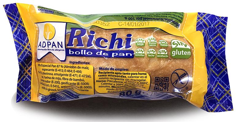 Adpan pan sin gluten