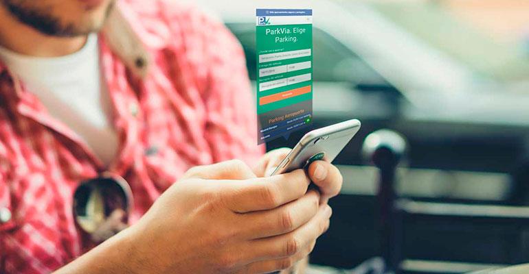 App que facilita la reserva previa de aparcamiento