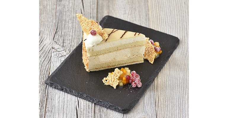 pastel de mazapán salado