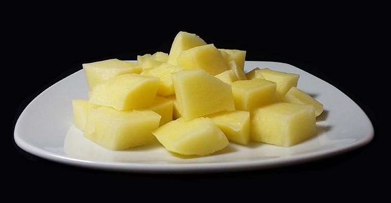Patatas bravas comercializadas por Paturpat