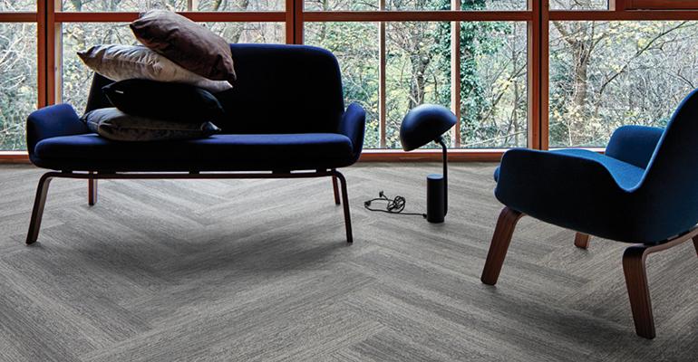 pavimento textil apariencia madera