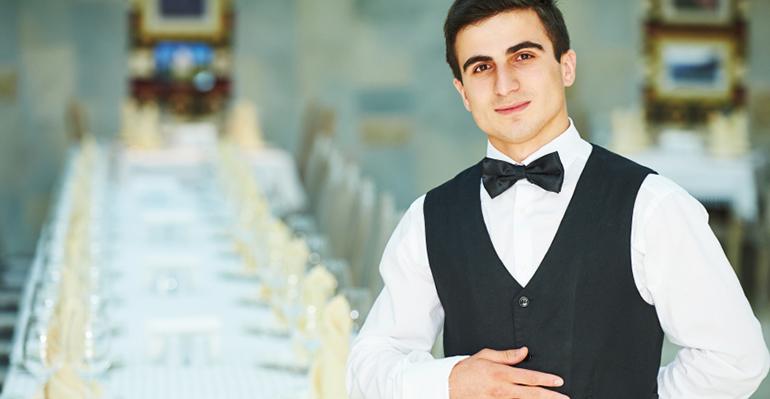 personal de sala restaurante