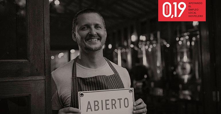 La plataforma 0,19 ayuda a más de 370 bares y restaurantes de Araón