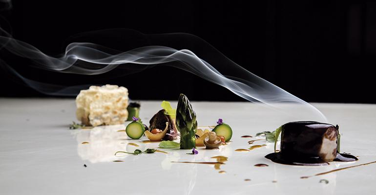 El menú degustación del Chirón