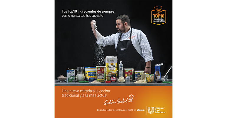 Portada del recetario de Unilever