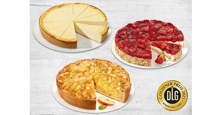 Erlenbacher recibe tres oros por sus tartas en Alemania